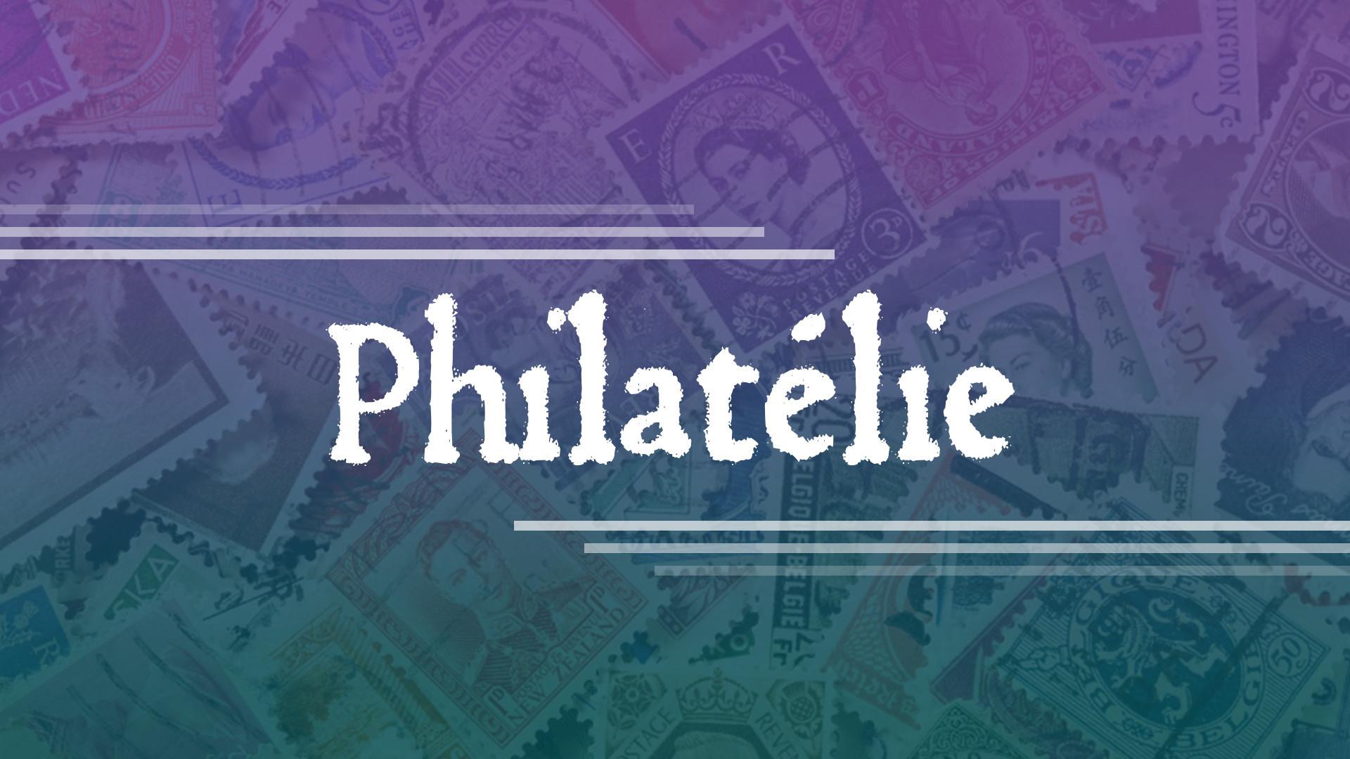 Philatelie