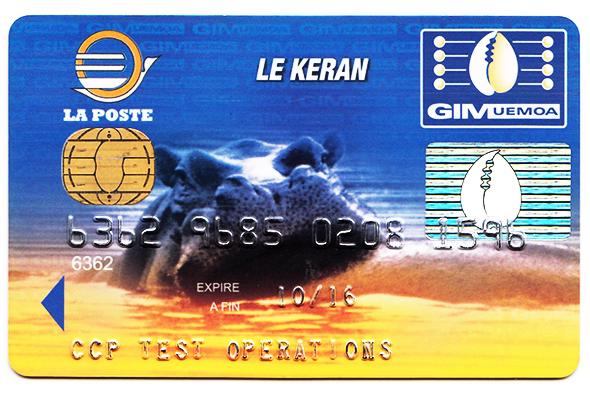 Exceptionnel Nos cartes bancaires | LA POSTE BS01