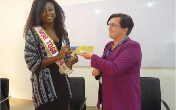 Miss Togo 2016 a choisi LA POSTE