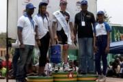 La Poste, Leader du maillot de la plus longue échappée lors du 27e Tour cycliste du Togo