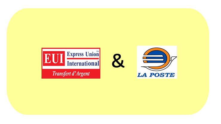 LA POSTE SIGNE UN CONTRAT DE PARTENARIAT AVEC EXPRESS UNION INTERNATIONAL