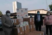 Don de l'UPU à la Poste du Togo dans la lutte contre la COVID 19